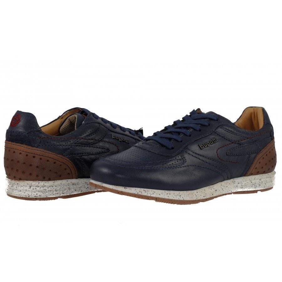 Мъжки спортни обувки Bugatti® естествена кожа сини