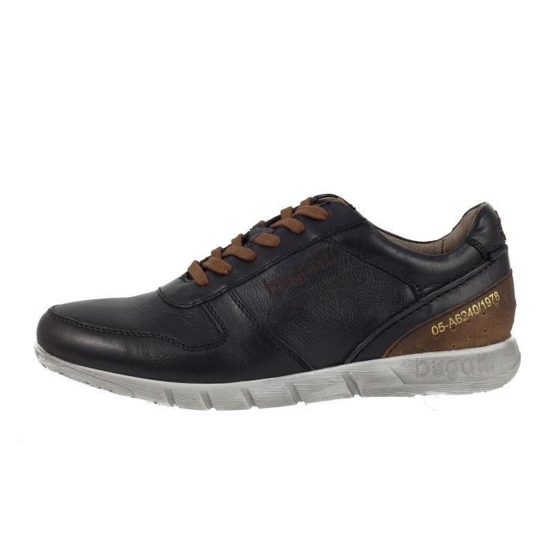 Мъжки спортни обувки Bugatti® естествена кожа черни