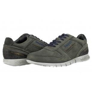 Мъжки спортни обувки Bugatti® естествена кожа сиви