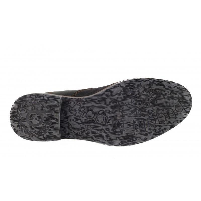 Мъжки боти естествена кожа Bugatti® Vanity Evo черни