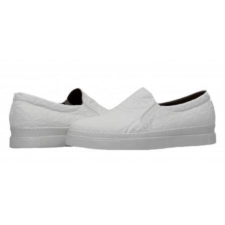 Дамски спортни обувки без връзки XCESS бели