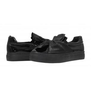Дамски спортни обувки без връзки XCESS черни