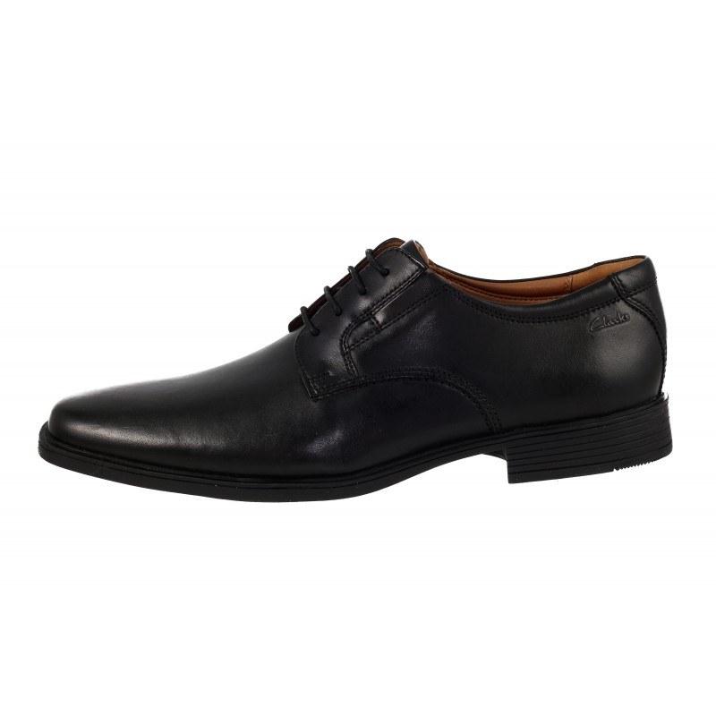 Мъжки кожени обувки Clarks Tilden черни