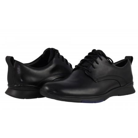 Мъжки официални обувки Clarks Tynamo Walk от естествена кожа черни