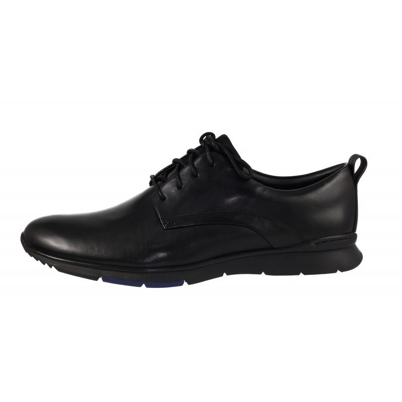 Мъжки официални обувки Clarks Tynamo Walk Ortholite® от естествена кожа черни