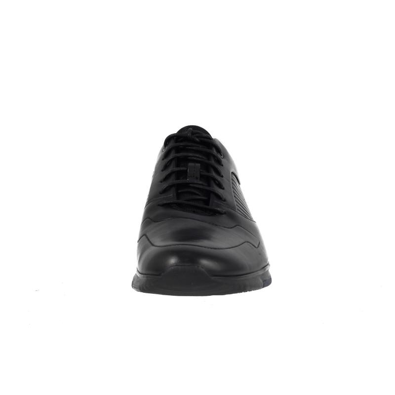 Мъжки спортни обувки Clarks Tynamo Race Ortholite® естествена кожа черни