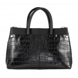 Дамска голяма чанта Clarks Maddington Way черно
