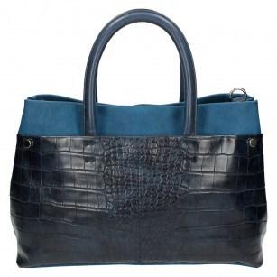 Дамска голяма чанта Clarks Maddington Way синя