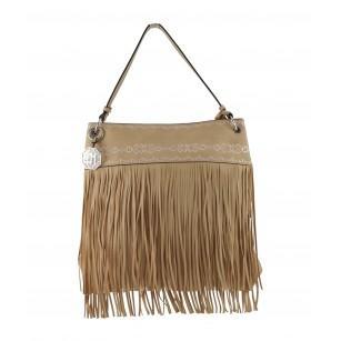 Дамска средна чанта Marina Galanti бежова