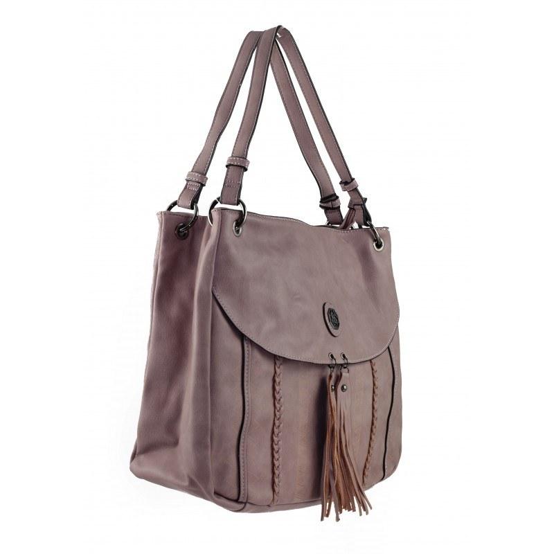 Дамска средна чанта Marina Galanti бледо розова