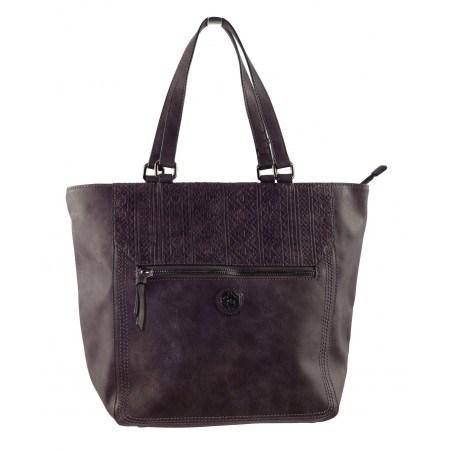 Дамска голяма чанта Marina Galanti  кафява