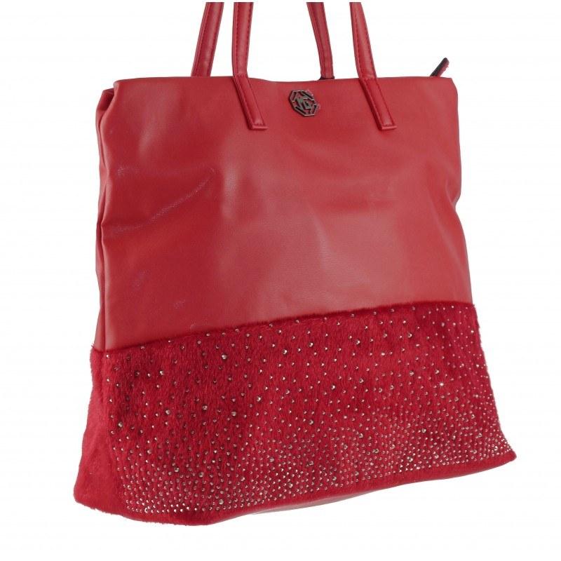 Дамска средна чанта Marina Galanti червена