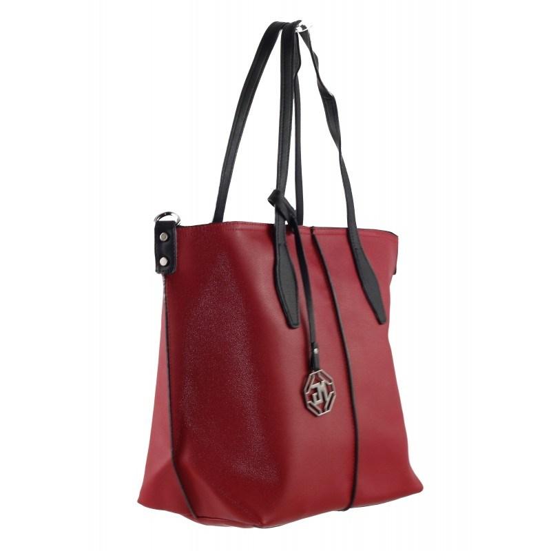 Дамска голяма чанта Marina Galanti червена