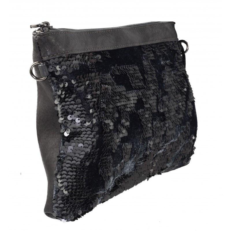 Дамска малка чанта Marina Galanti сива