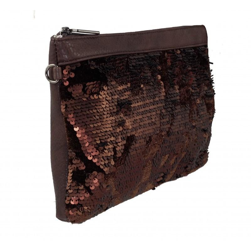 Дамска малка чанта Marina Galanti кафява