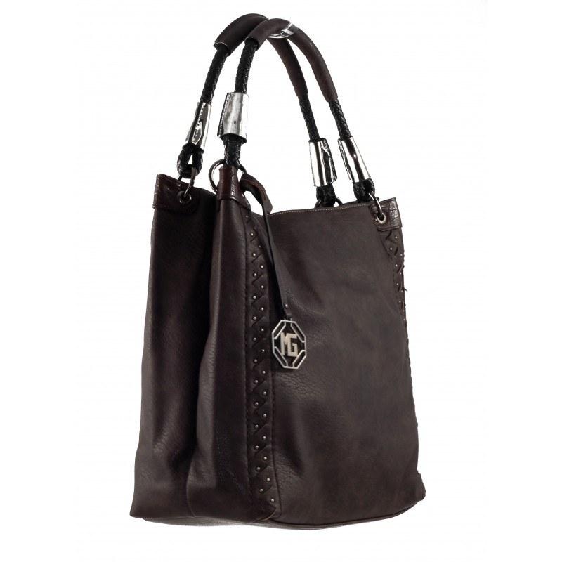 Дамска средна чанта Marina Galanti тъмно кафява