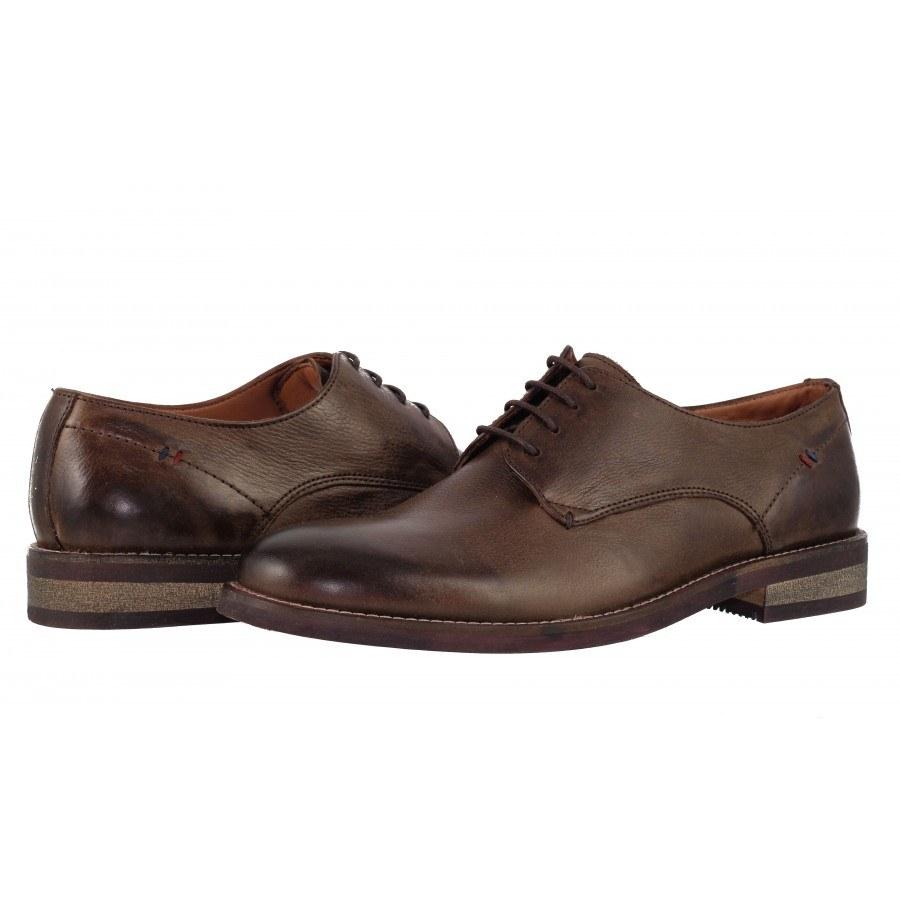Мъжки кожени обувки Salamander кафяви