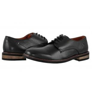 Мъжки кожени обувки Salamander черни