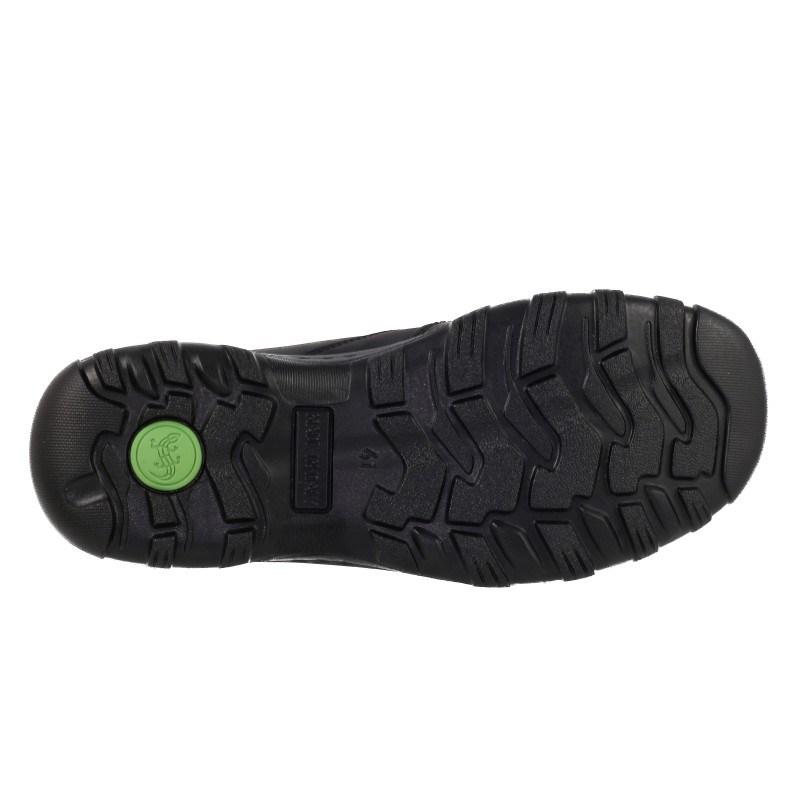 Мъжки кожени обувки водоустойчиви Salamander черни TEX