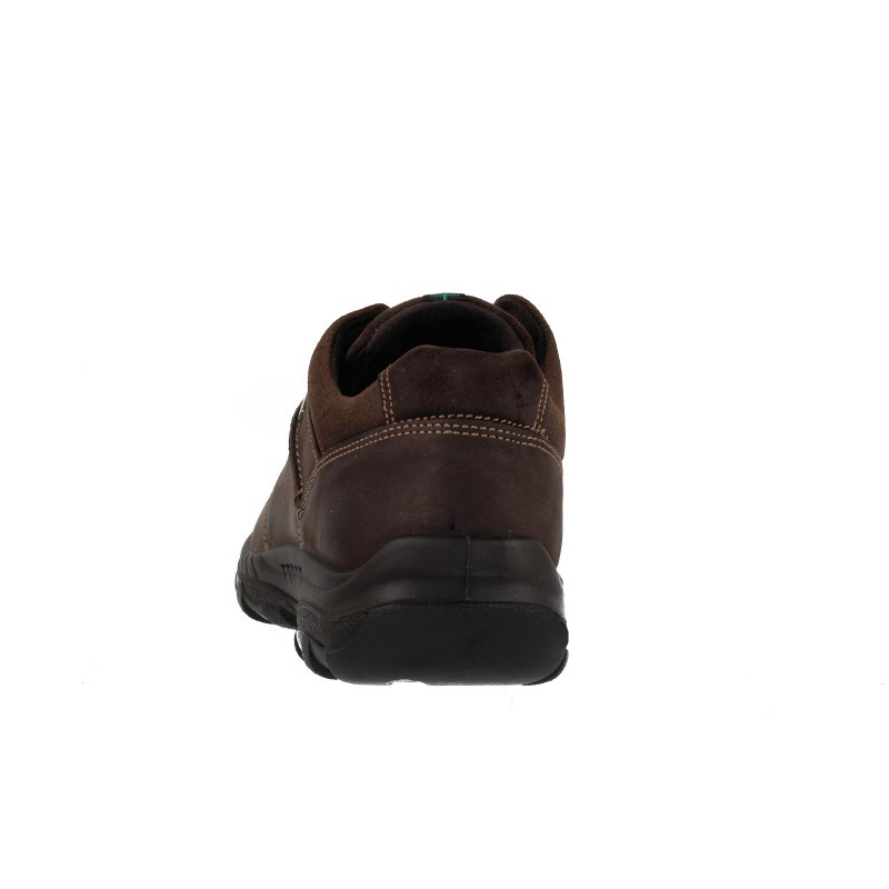Мъжки кожени обувки водоустойчиви Salamander кафяви
