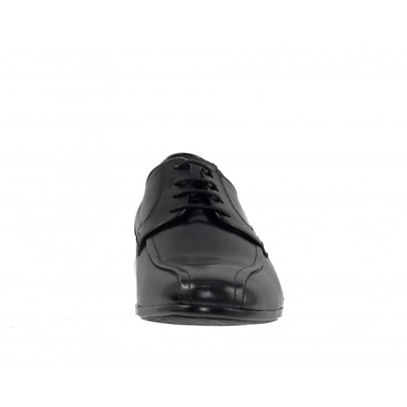 Елегантни кожени обувки с връзки Salamander черни