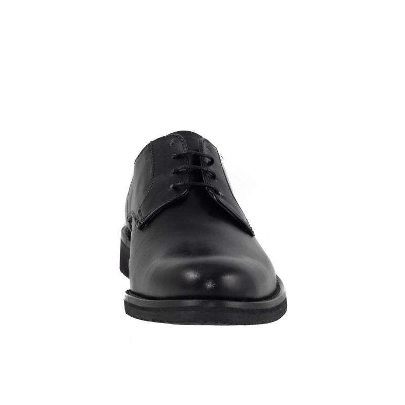 Мъжки кожени обувки с връзки черни Salamander