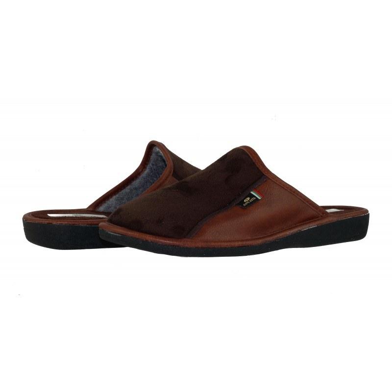 Мъжки домашни чехли Spesita кафяви TANNER