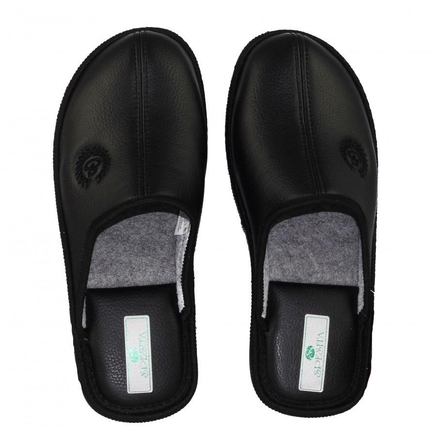 Мъжки домашни чехли Spesita черни MAC