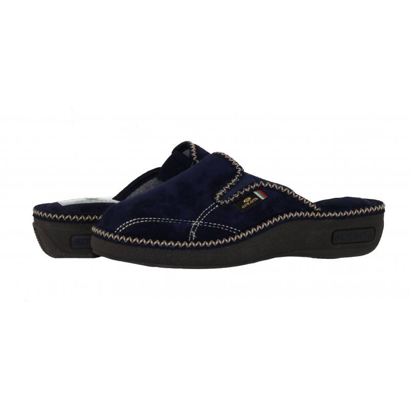 Дамски домашни чехли Spesita сини DOTTI