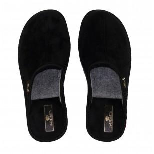 Мъжки домашни чехли Spesita черни TAD