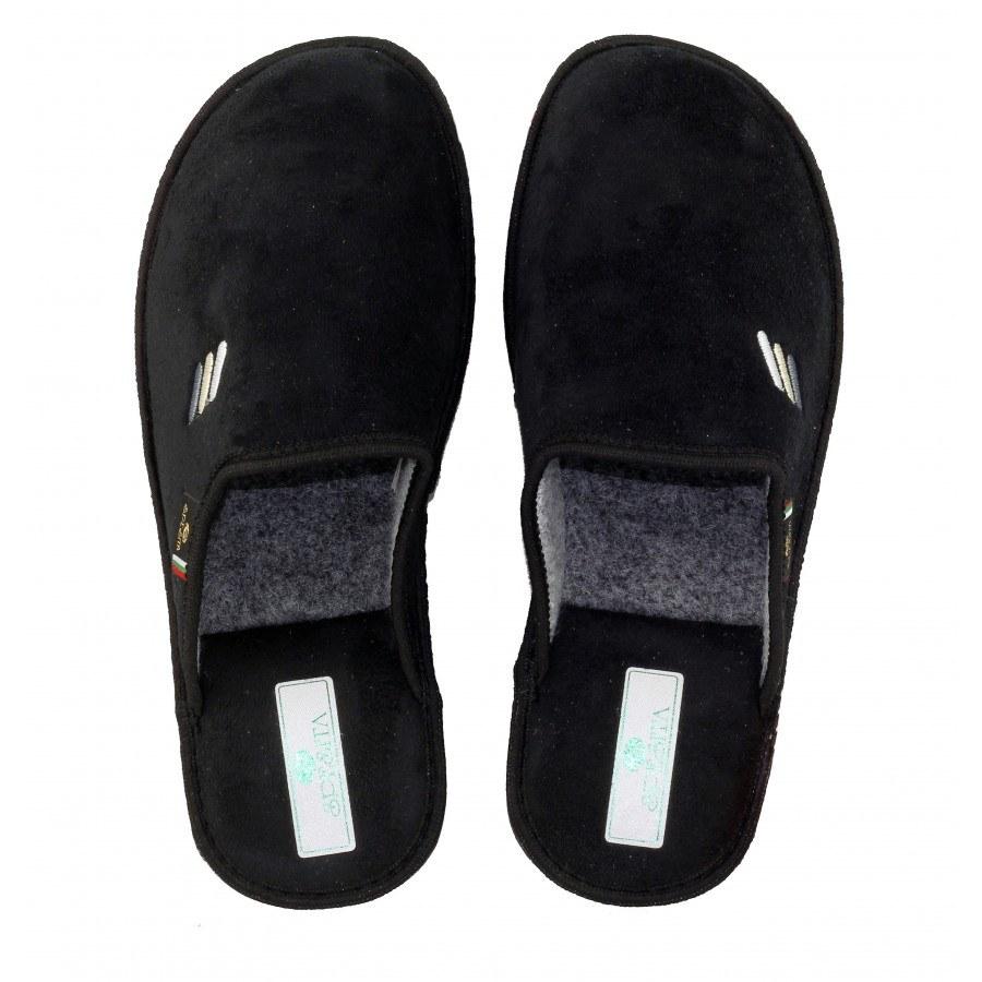 Мъжки домашни чехли Spesita черни ERIK