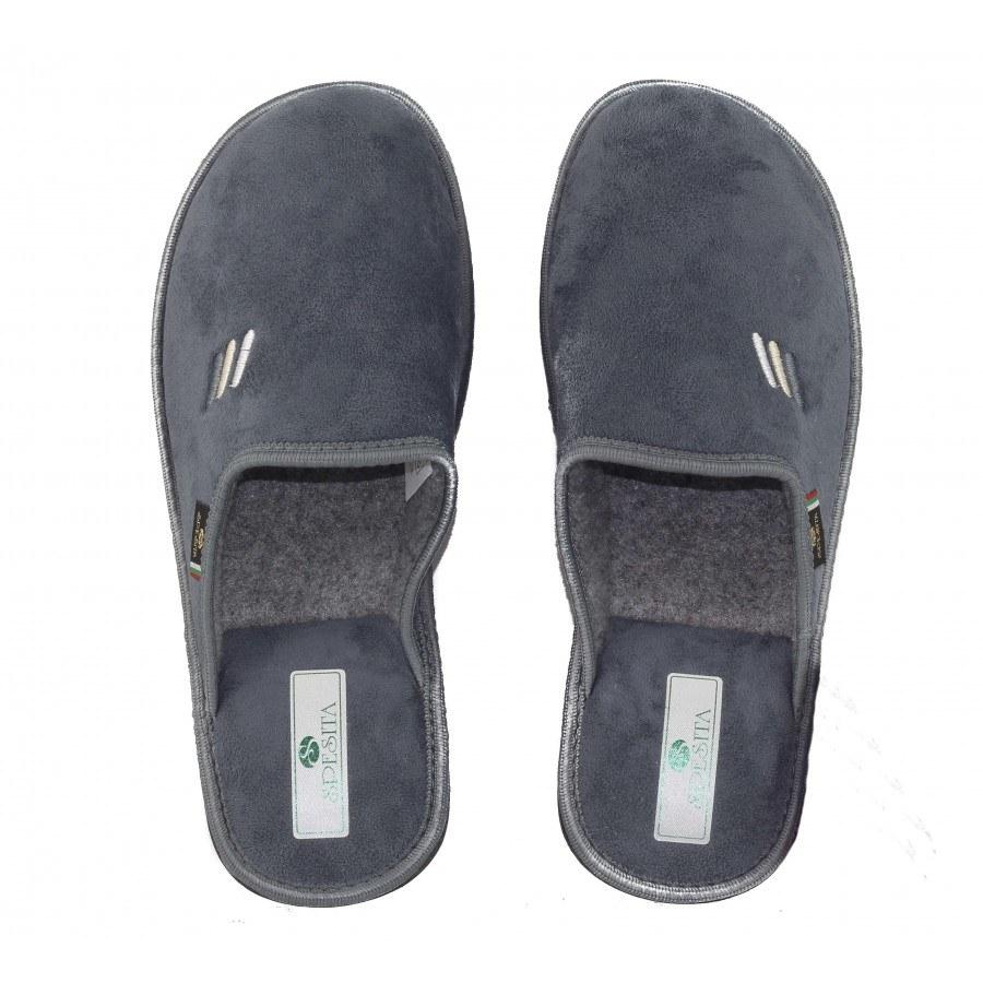 Мъжки домашни чехли Spesita сив ERIK