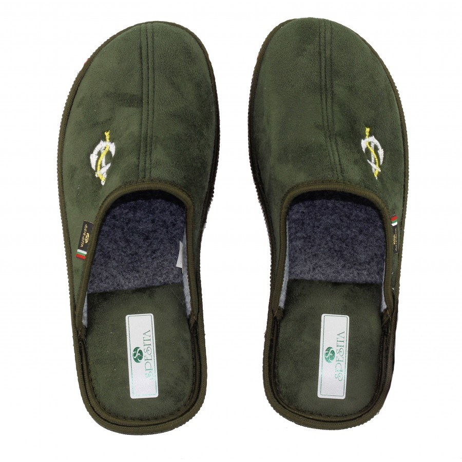 Мъжки домашни чехли Spesita зелени ANTONIO