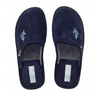 Мъжки домашни чехли Spesita сини ANTONIO