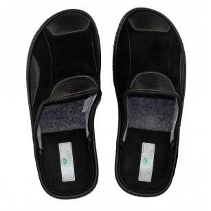 Мъжки домашни чехли Spesita черни MAURIZIO