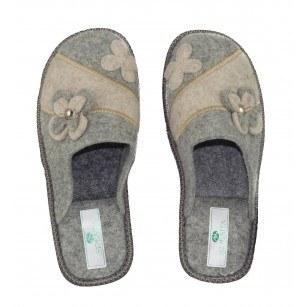 Дамски домашни чехли Spesita сиви BRIANA