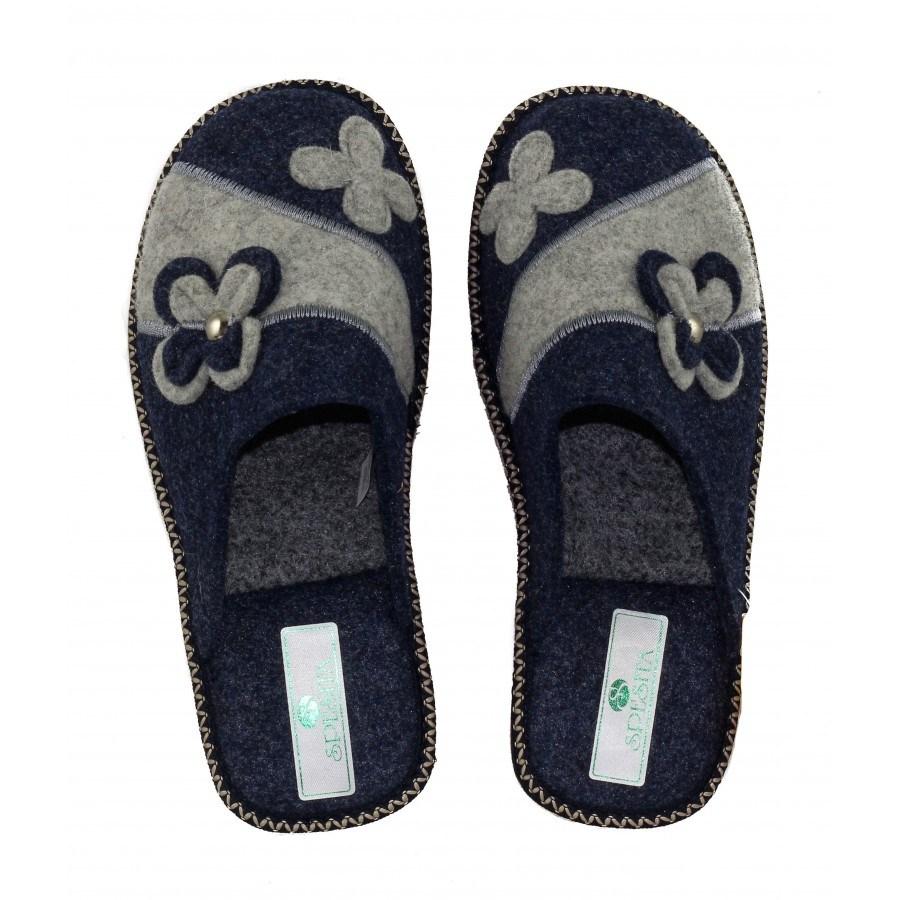 Дамски домашни чехли Spesita сини BRIANA