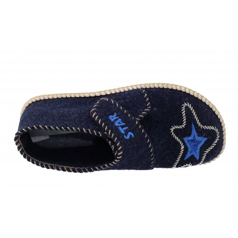 Детски домашни чехли анатомични  Spesita сини