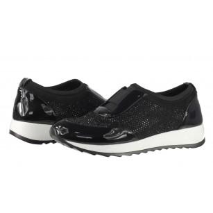 Дамски спортни обувки без връзки BE ME черни
