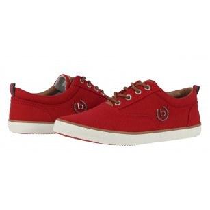 Мъжки спортни обувки с връзки Bugatti® червени