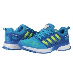 Мъжки маратонки Bulldozer сини/зелени