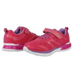 Детски маратонки за момиче Bulldozer розови 31-35