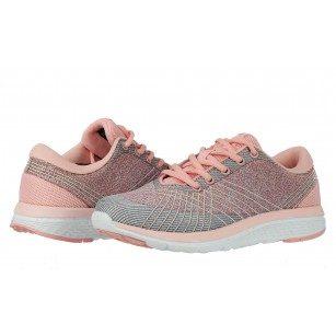 Дамски маратонки Bulldozer розови/сиви