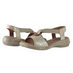 Дамски анатомични сандали  Caprice  крем