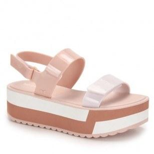 Дамски сандали на платформа Zaxy SLASH PLAT SANDAL FEM розови