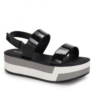 Дамски сандали на платформа Zaxy SLASH PLAT SANDAL FEM черни