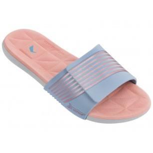 Дамски анатомични чехли Rider PRANA FEM розови/сини