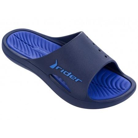 Мъжки анатомични чехли Rider BAY VII AD черни/сини