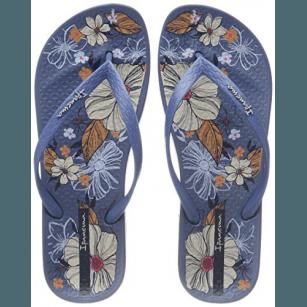 Дамски анатомични джапанки Ipanema ANAT TEMAS VII FEM сини