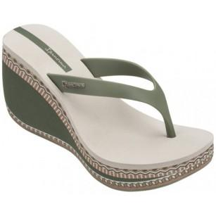 Дамски чехли на платформа Ipanema LIPSTICK THONG VI FEM зелени